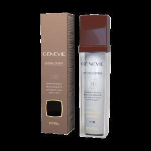 Дневной флюид-фотозащита для зрелой кожи лица и шеи SPF 20 GENEVIE Lifting Expert