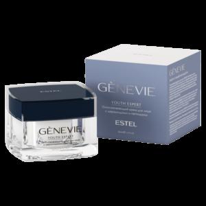 Омолаживающий крем для лица с церамидами и пептидами GENEVIE Youth Expert, 50 мл