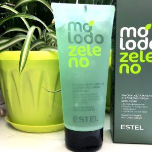 Маска – увлажнение с хлорофиллом для лица ESTEL Molodo Zeleno 100мл